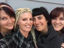 With Gina, Susan & Stefanie