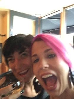 Beth & I, not having any fun as usual