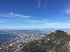 Not a bad view of Cape Town
