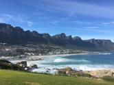 The gorgeous Camps Bay beach... pity the water is always too cold for swimming.