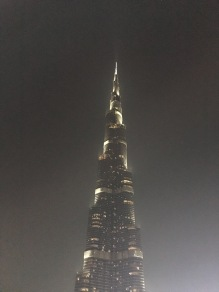 The top of the Burj Khalifa