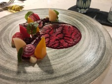 Beets and burrata