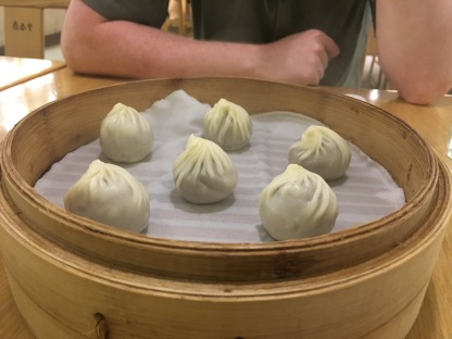 XLB filled with chocolate!
