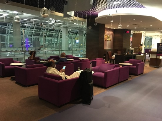 Royal Silk Lounge in BKK