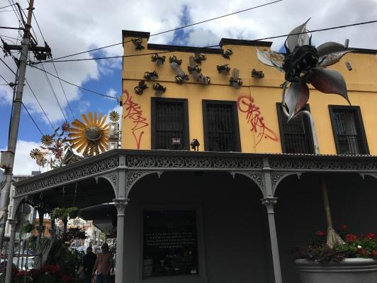 Flowershop in the Fitzroy neighbourhood
