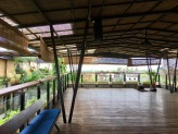 The yoga deck (including equipment) is available for use anytime