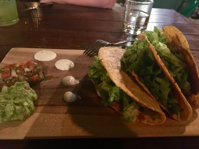 "Tofu ""chorizo"" tacos"
