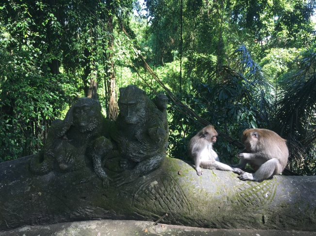 Monkey Forest Statue