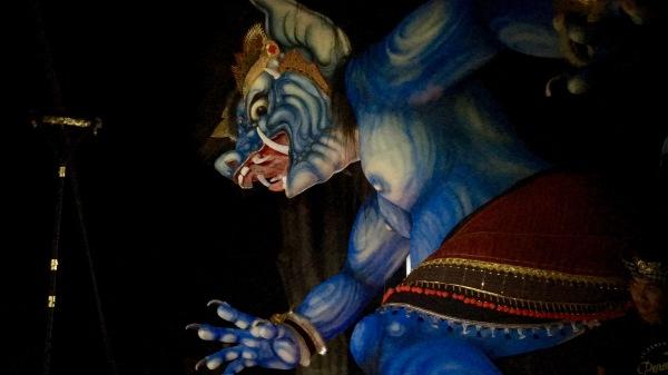 Blue Ogoh Ogoh