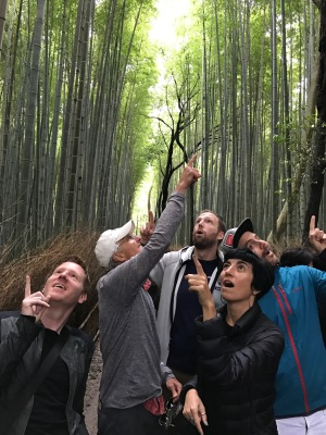"""Everyone, point at the best bamboo!"""
