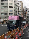 Even trucks are adorable in Tokyo
