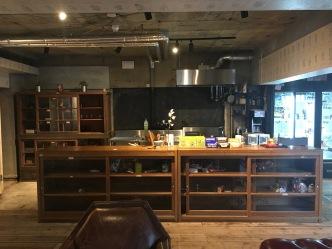 The communcal kitchen