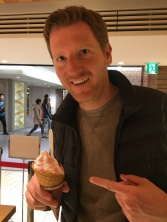 The German & his very manly ice cream