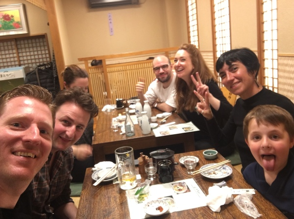 Sushi with Friends