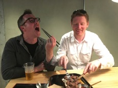 Todd was excited to try Koba beef in Japan
