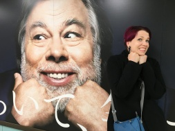 We have no idea what Woz is advertising