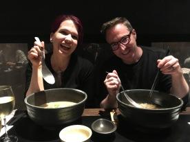 Massive bowls of udon