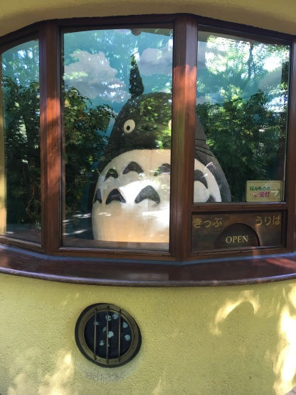 Totoro mans the ticket booth